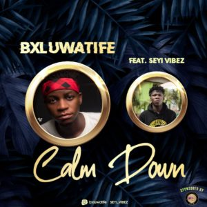 [Music] Bxluwatife Ft Seyi Vibez – Clamdown